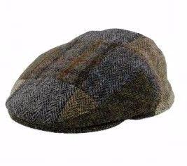 Failsworth Harris Patch Tweed Cap