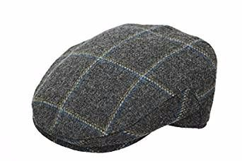Denton 100% Wool Tweed Cap GR93