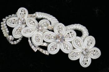 Ivory flower clip LJ-LP626