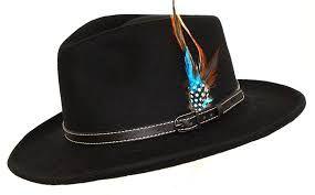 Denton Outbacker Crushable Wool Hat Black  - Teflon Coated & Crushable