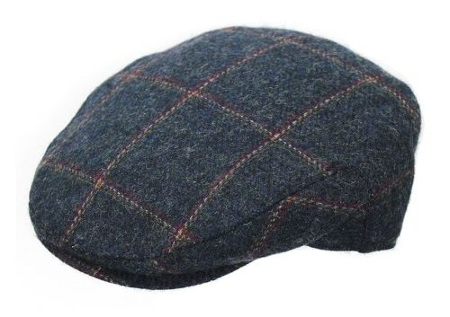 Denton 100% Wool Tweed Cap BL94