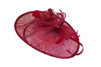 Teardrop Burgundy red hattinator AD1
