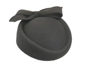 Wool Felt Rolo Hat in Charcoal, Navy or Black JBW-18