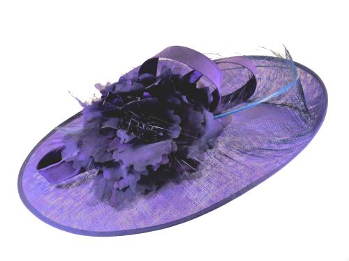 Royal purple Indigo Richard Designs Handmade Hat BM213H