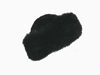 Luxury 100% Alpaca Hat Black