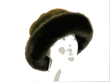 Moss Olive Luxury Faux Fur by Whiteley 904/041