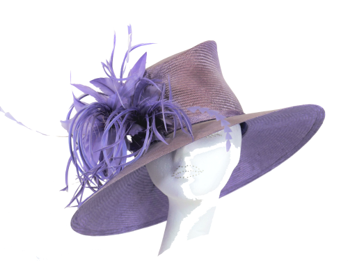 Lilac parisisal hat by Whiteley 353/315