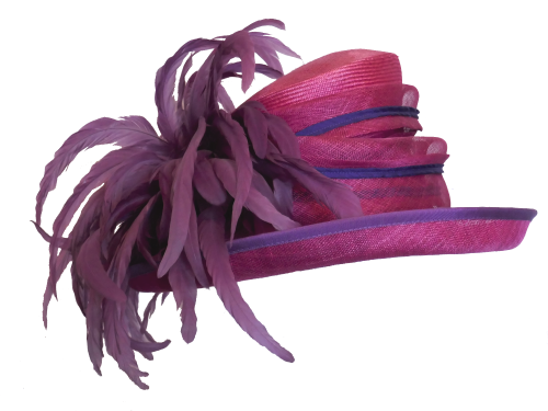 Fushia & Purple hat by Snoxell SNX-705 WAS £220 NOW £165