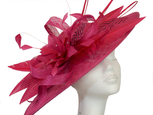 Teardrop Cerise disc hat FM-9115