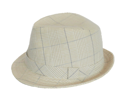 Olney cotton check trilby 4743