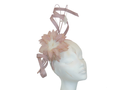 Heather and Ivory Fascinator JB757