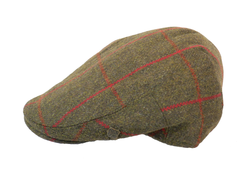 Failsworth Gamekeeper Cap in showerproof tweed