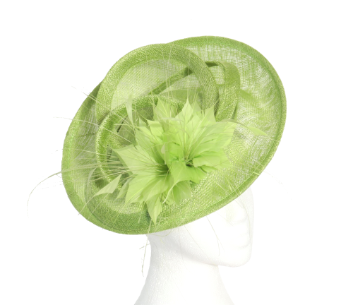 Lime Maddox Disc Hat H048