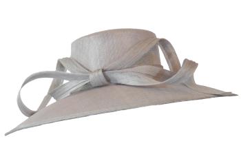 Silver Grey Hat by Maddox H96