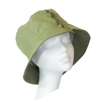 Olive Linen Sunhat Jane R4751