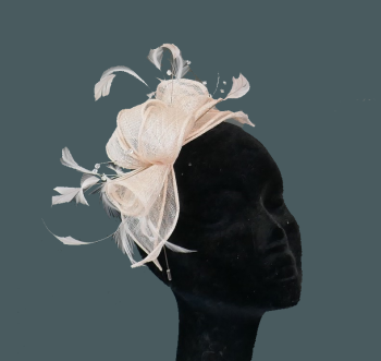 Sinamay & Crystal fascinator CF1 -other colours available
