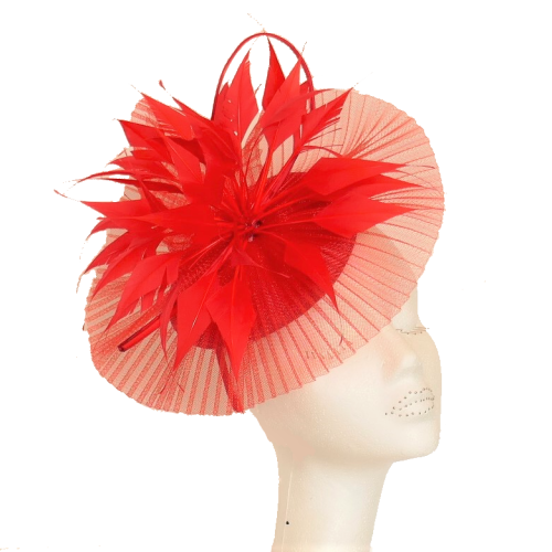 Pleated crin starburst FA-BL5123 (red)