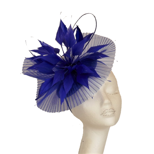 Pleated crin starburst FA-BL5123 (cobalt)