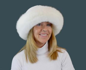 White Luxury Faux Fur by Whiteley 904/041