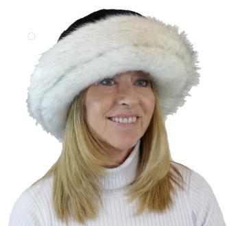 Whiteley Luxury Faux Fur Black/Solar WHC-903/003