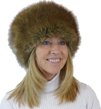 Luxury Faux fur Cossack style hat by Whiteley - PEPPER WHC-900/002