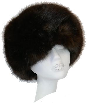 Luxury Faux fur Cossack style hat by Whiteley - TRUFFLE  WHC-900/002