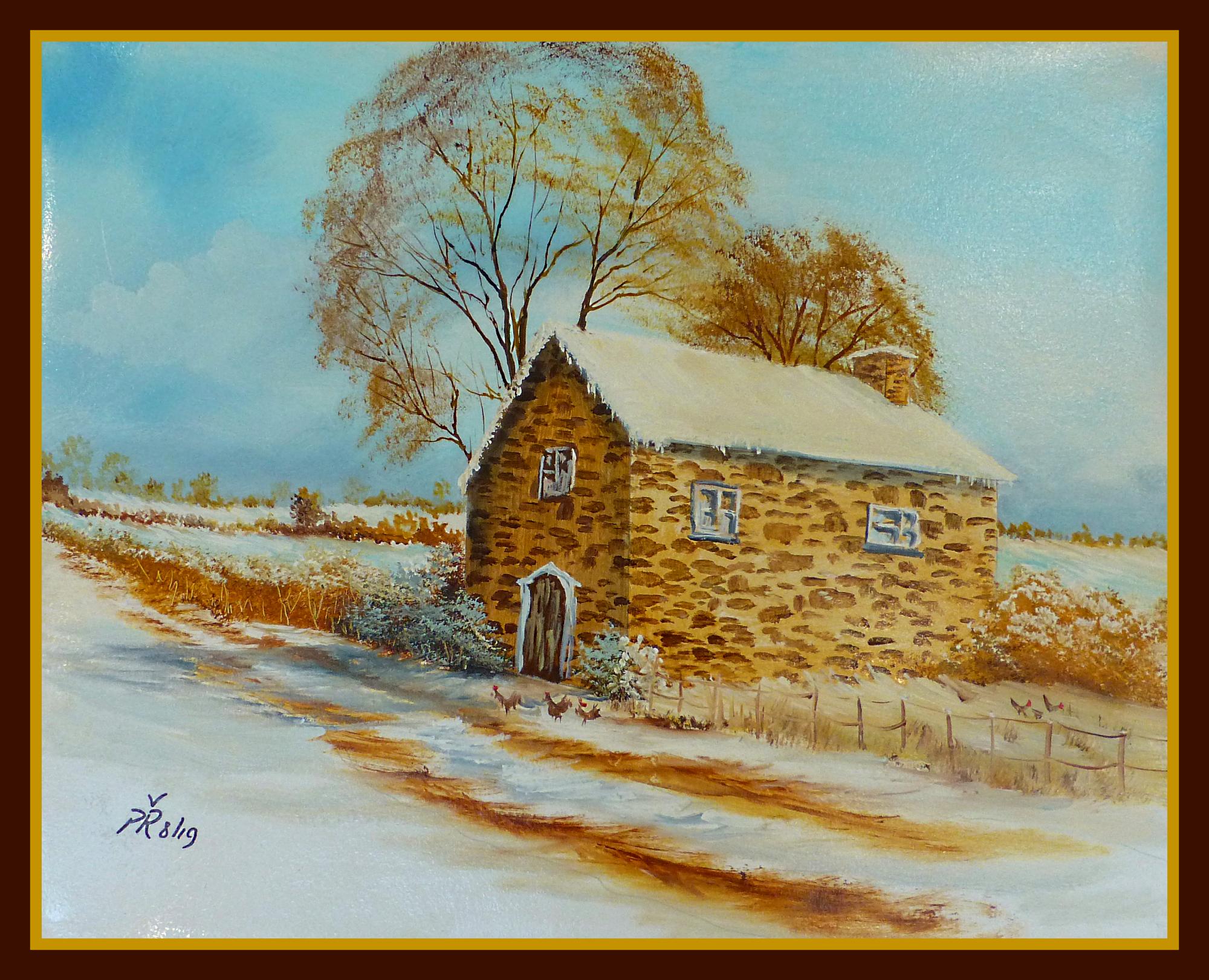 'Old Stone Farmhouse''