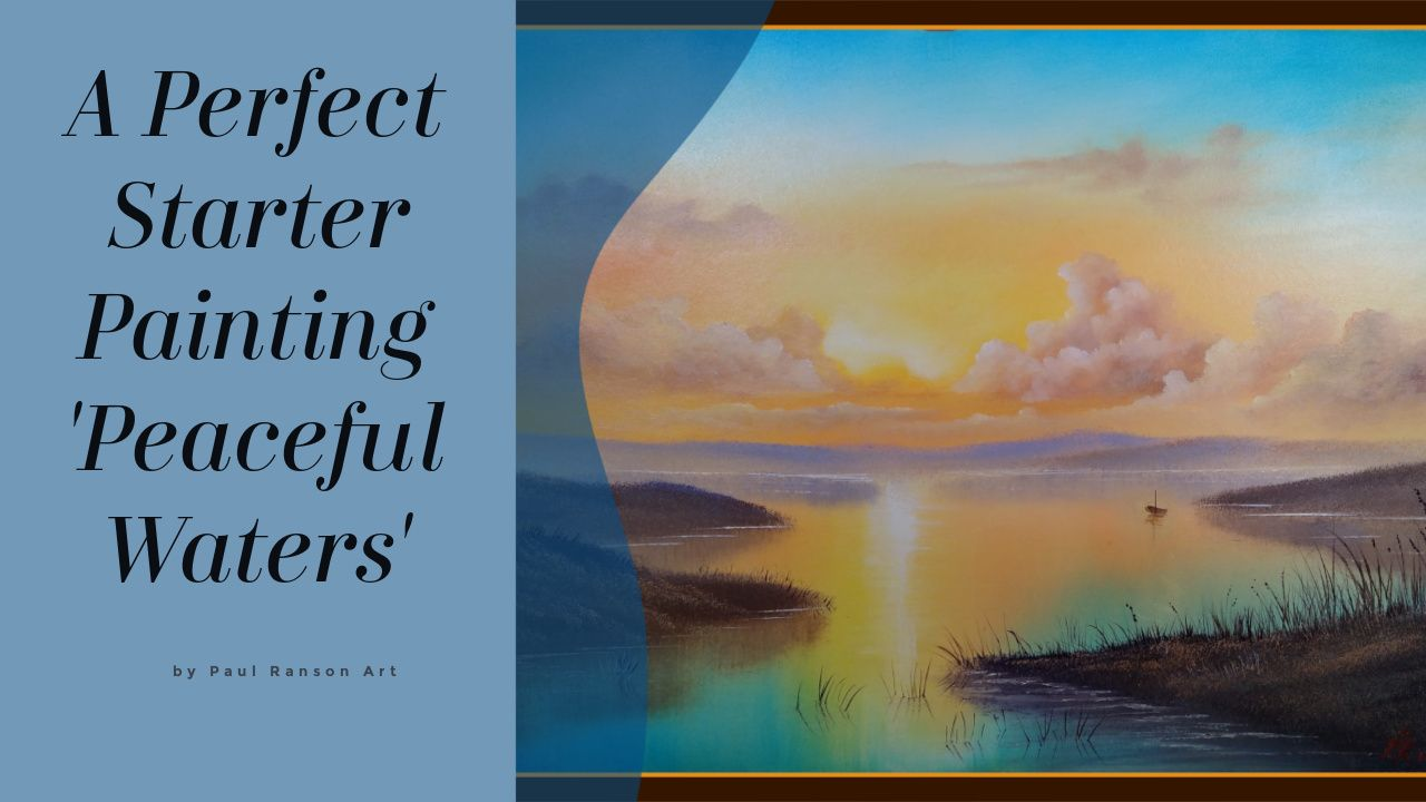 Peaceful Waters Oil Painting