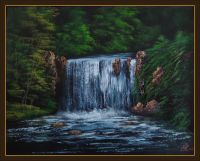'Leafy Falls' Step by Step Tutorial on Live Stream or DVD
