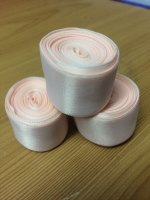 Ballet ribbon for pointe shoes