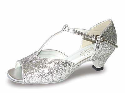 Aduo Silver ballroom shoe