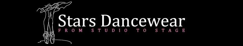 Stars Dancewear, site logo.