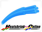 <!-- 007 -->Blue Heatshrink 2:1 Ratio
