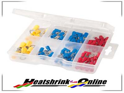 82 Piece Mixed Crimp Terminal Set