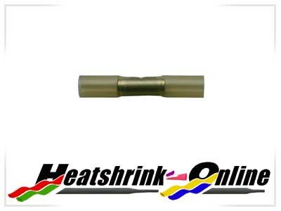 Yellow Heatshrinkable Butt Splice Connectors