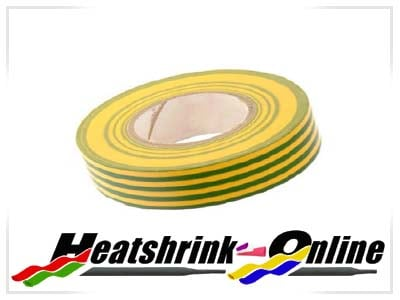 Green & Yellow Pvc Insulation Tape