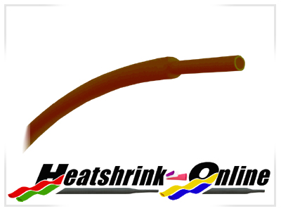 1.6mm Diameter Light Brown Heatshrink