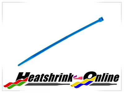 200mm x 4.8mm Blue Cable Ties