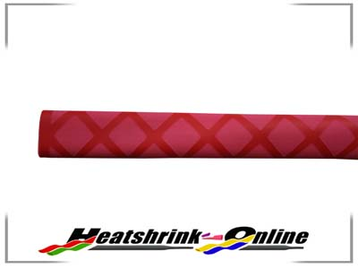 30mm Red Non Slip Textured Heatshrink x 1m