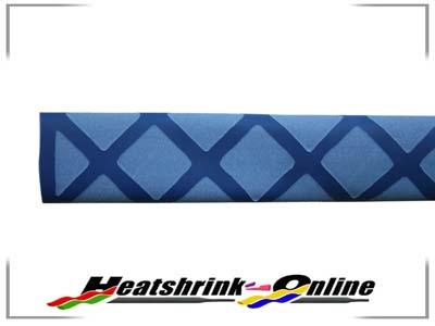 25mm Blue Non Slip Textured Heatshrink x 1m