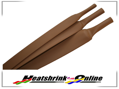 25.4mm Diameter Brown Heatshrink Per 0.5m