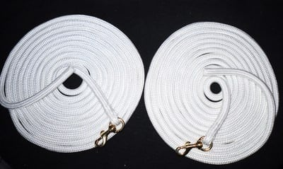 Pair of 22ft Longlines/Long reins
