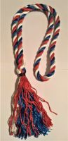 Neckstrap red white blue