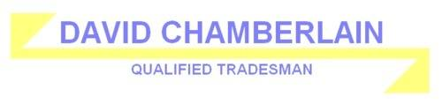 DAVID CHAMBERLAIN, site logo.