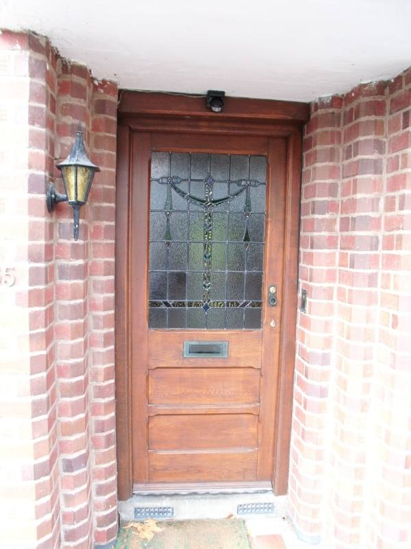 Client Picture - Removation of Porch Window - Part one