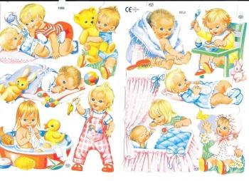 1486 - Babys Gollys Rag Dolls Teddys