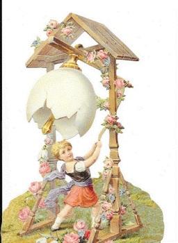 5178 - Easter Cherub Egg Scrap