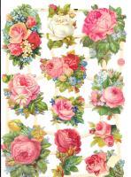 7411 - Tea Rose Roses Flowers Bouquets