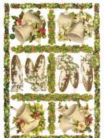 7420 - Holly Mistletoe Bells Fir Cones