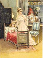 Christmas Eve Santa Claus Post Card 3055